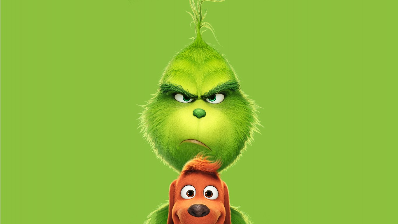 Avengers Wallpaper Iphone X The Grinch 2018 5k Wallpapers Hd Wallpapers Id 23317