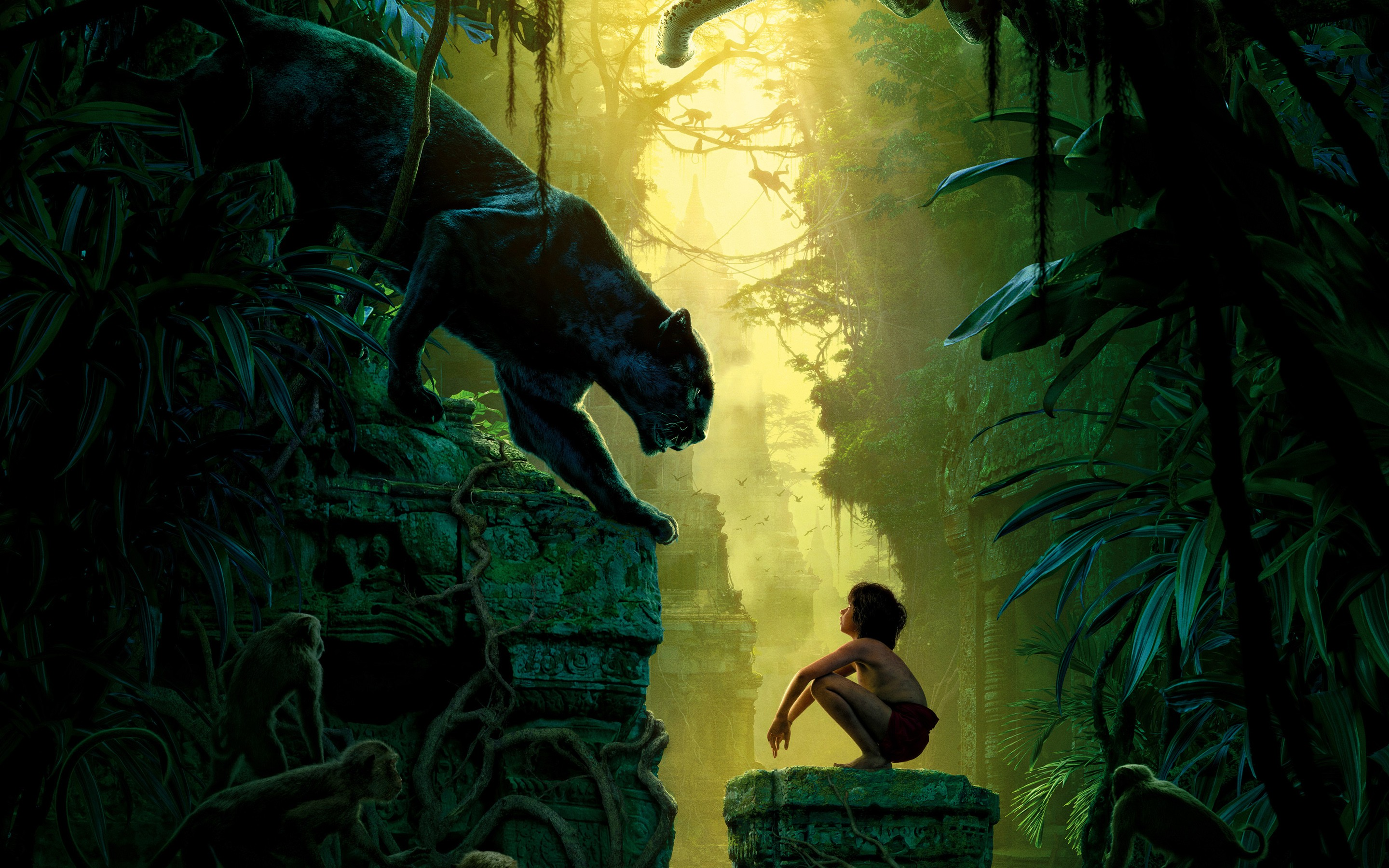 Cute Jungle Wallpaper The Jungle Book 2016 Movie Wallpapers Hd Wallpapers Id