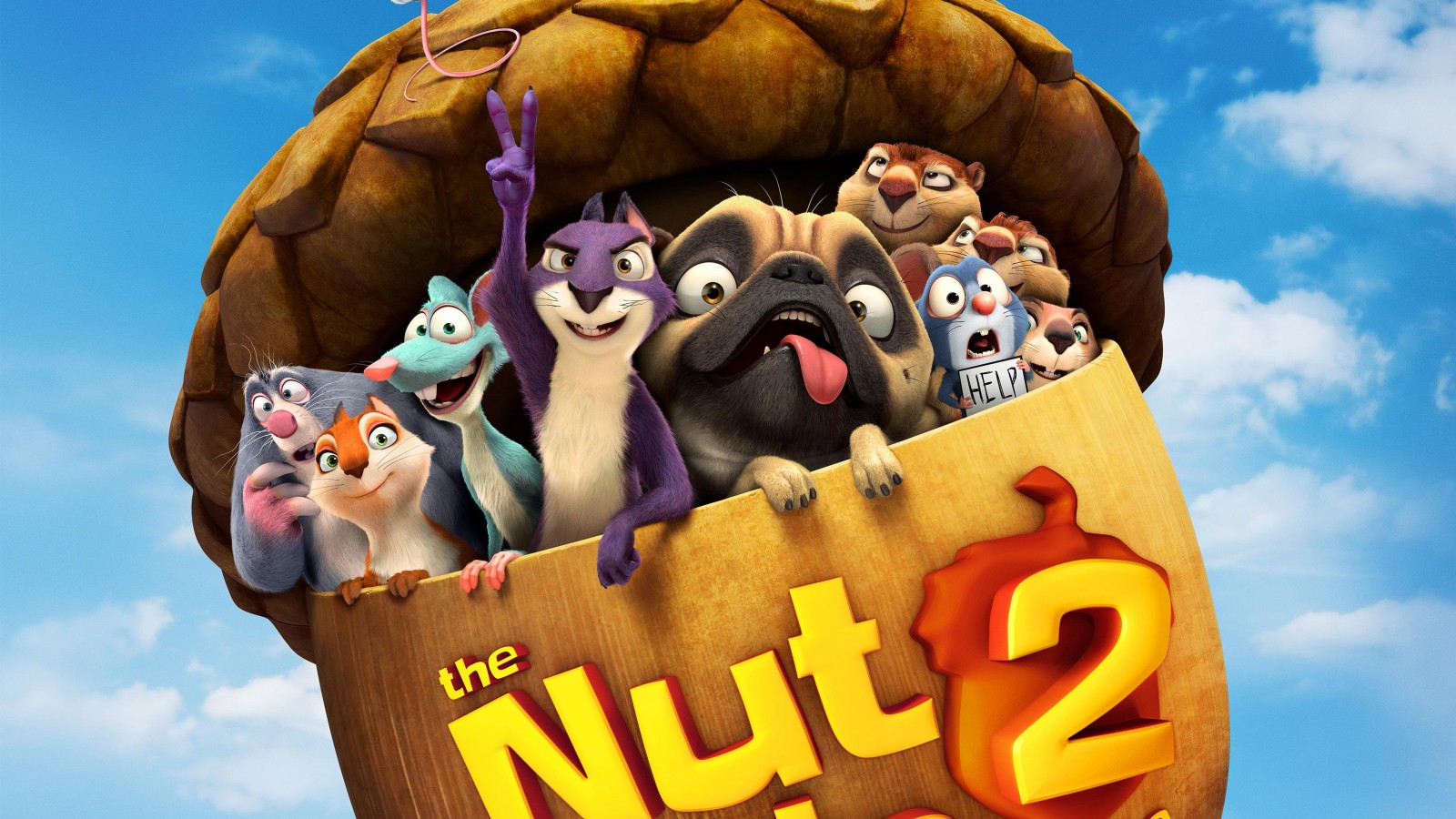 Cute Cartoon Hd Wallpapers For Android The Nut Job 2 Nutty By Nature 2017 Wallpapers Hd
