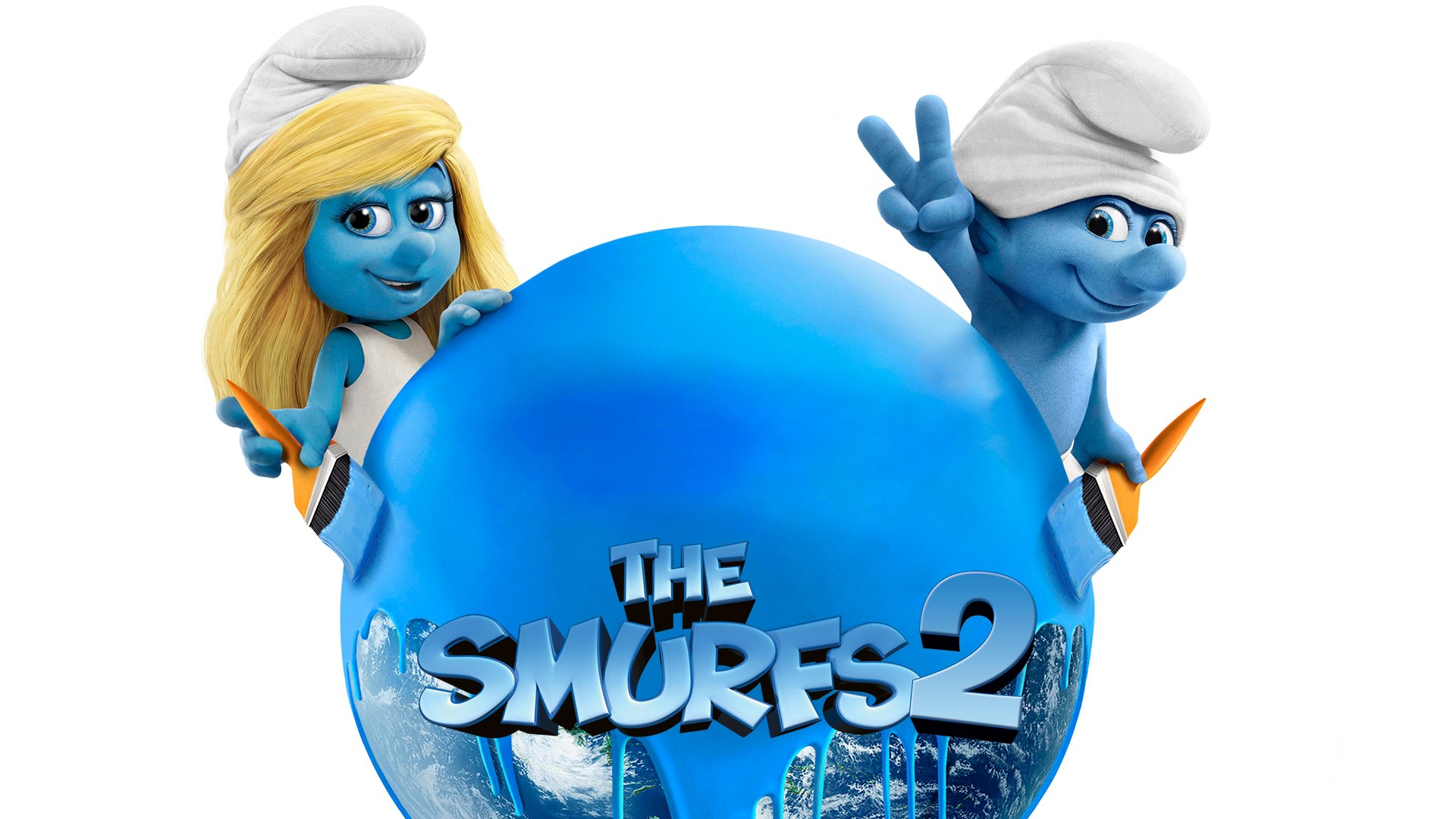 3d Smurfette Wallpapers The Smurfs 2 Wallpapers Hd Wallpapers Id 12541