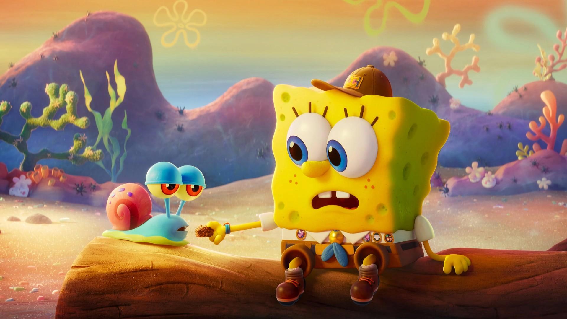 The SpongeBob Movie Sponge on the Run 4K Wallpapers   HD ...