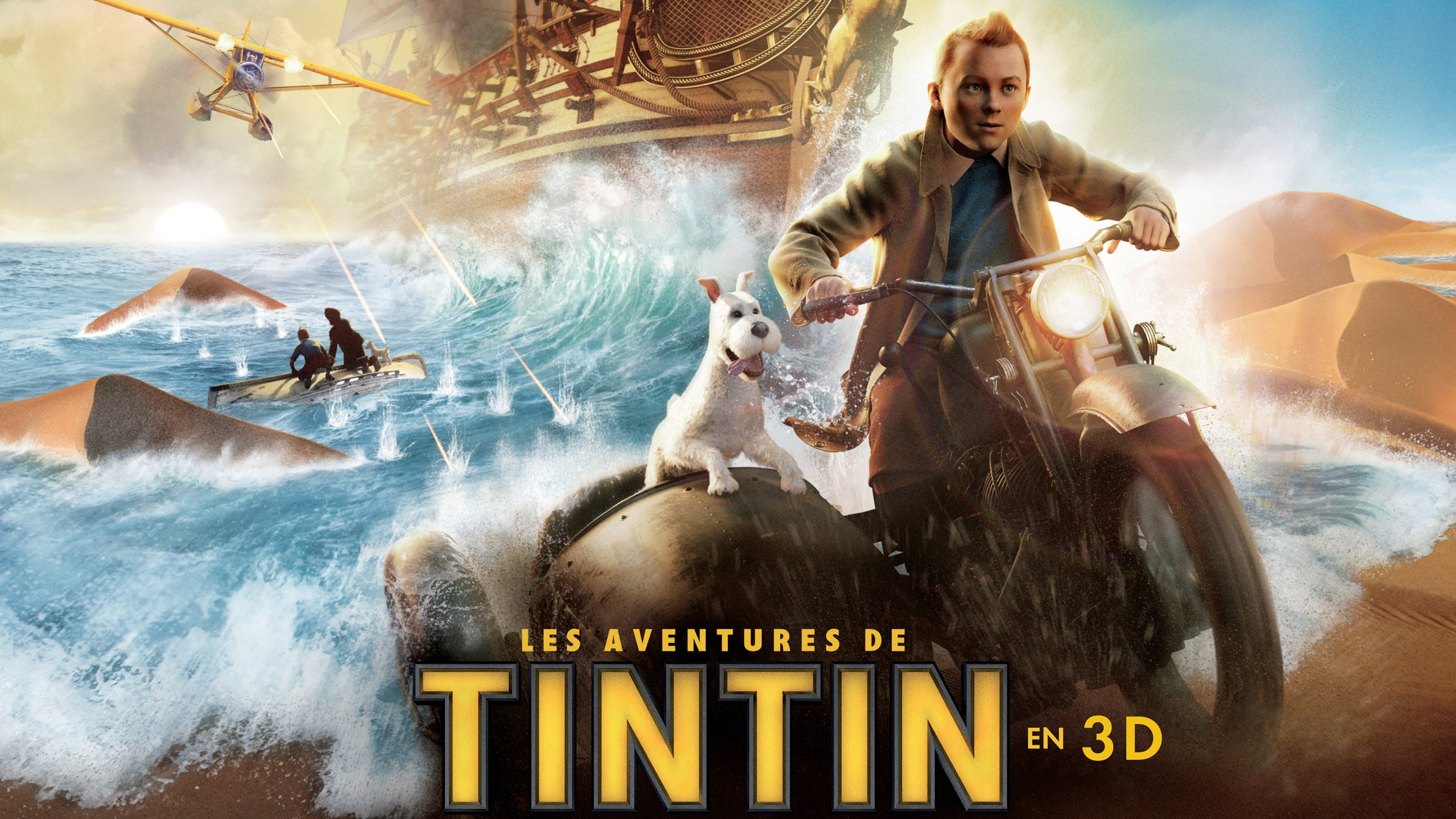 Beast 3d Wallpaper Tintin In French Wallpapers Hd Wallpapers Id 10444