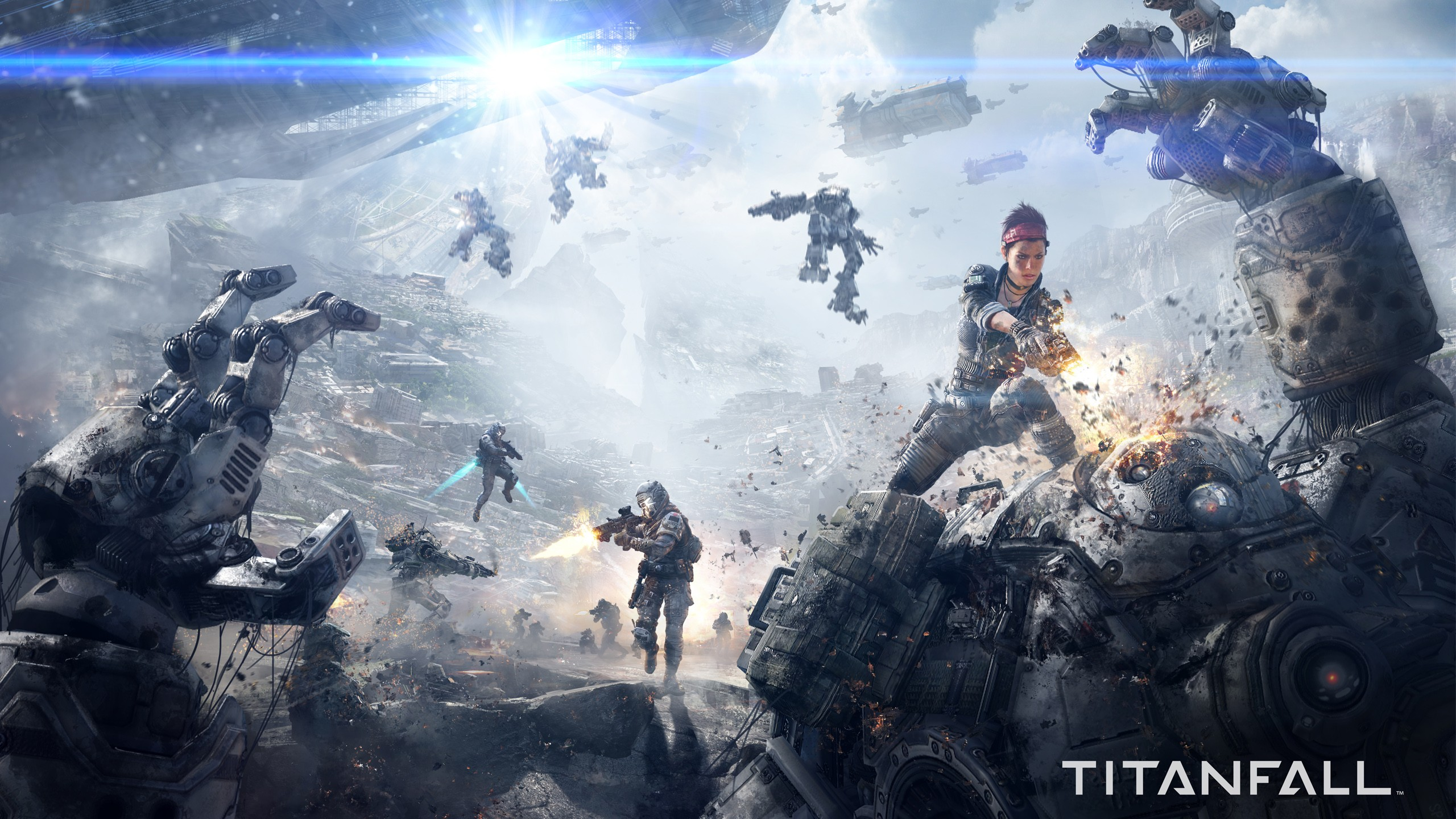 Epic Titan Fall Wallpaper Titanfall Wallpapers Hd Wallpapers Id 13023