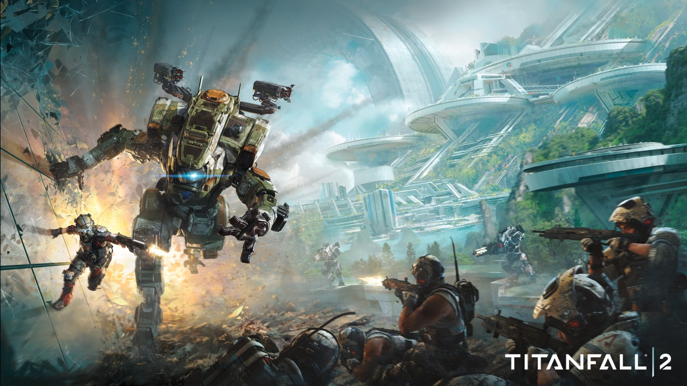 Fall Wallpaper For Iphone 7 Titanfall 2 2016 Game 4k Wallpapers Hd Wallpapers Id
