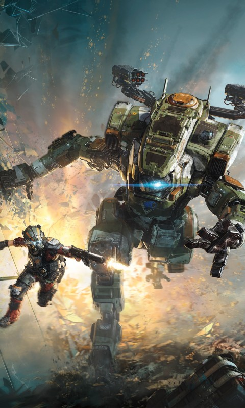 Wallpaper Iphone 7 Fall Titanfall 2 2016 Game 4k Wallpapers Hd Wallpapers Id