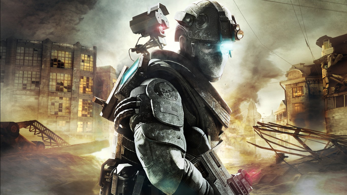 Iphone 5 Mario Wallpaper Tom Clancy S Ghost Recon Future Soldier Wallpapers Hd