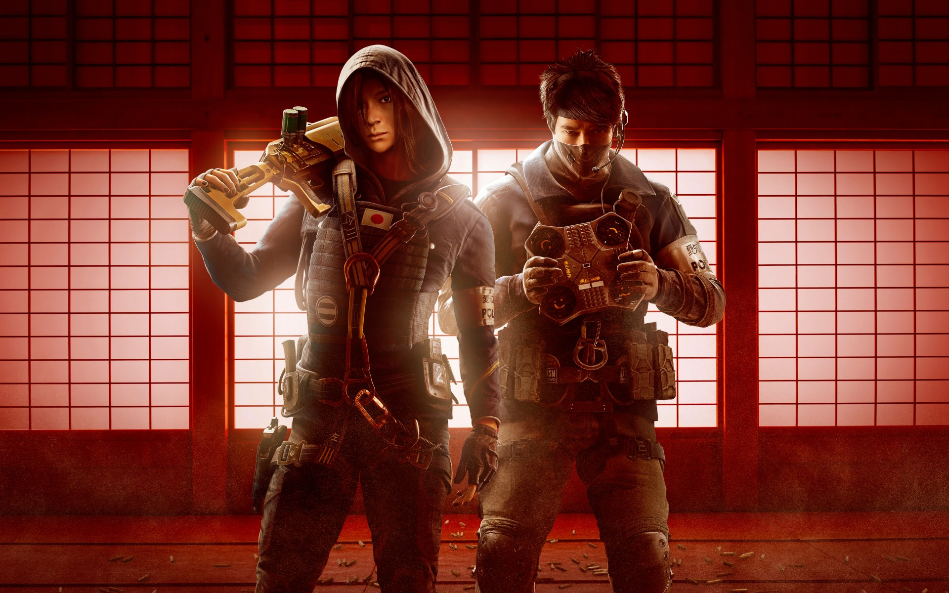 Apple Iphone X Wallpaper Tom Clancys Rainbow Six Siege Operation Red Crow Operators