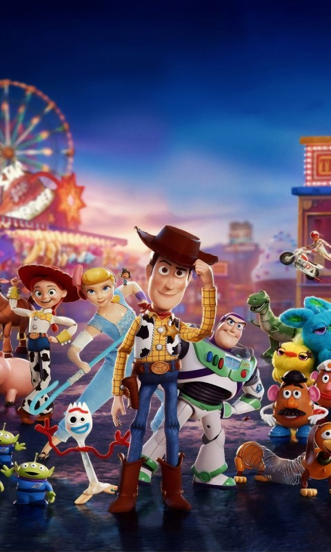Octopus Iphone Wallpaper Toy Story 4 2019 Wallpapers Hd Wallpapers Id 27922