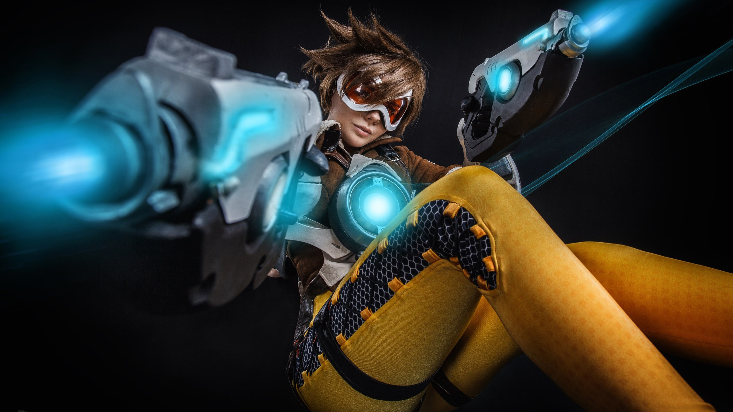 Cool Girls Overwatch Wallpapers Tracer Cosplay Overwatch Wallpapers Hd Wallpapers Id