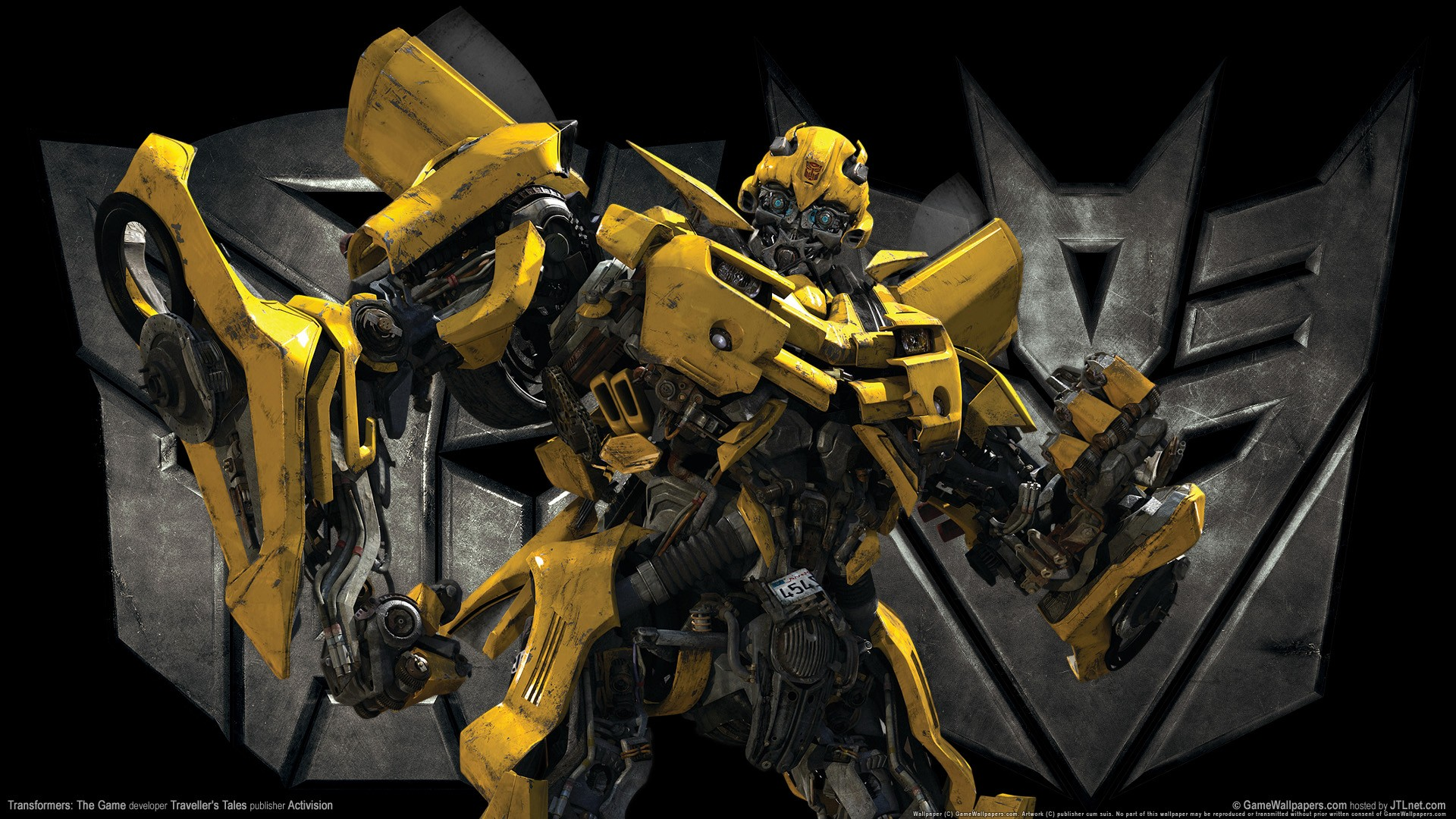 Fall Wallpaper Hd 1280x1024 Transformers The Game Bumble Bee Wallpapers Hd