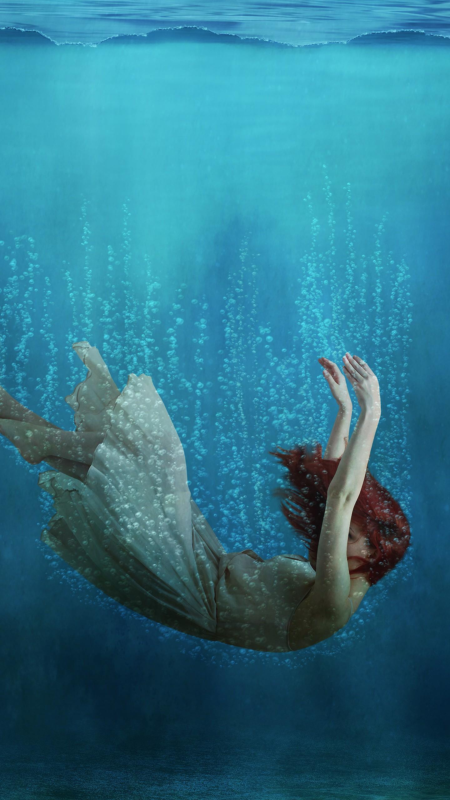 Fall Owl Wallpaper Underwater Girl Dream Wallpapers Hd Wallpapers Id 23094