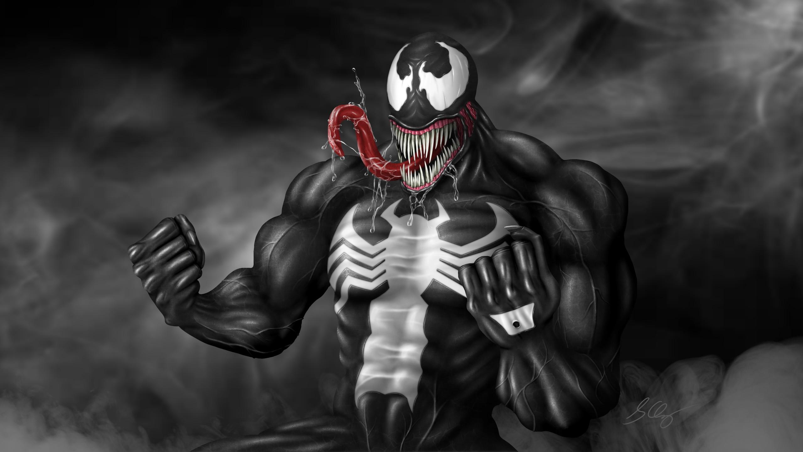 Spiderman 3d Wallpaper For Iphone Venom Artwork 5k Wallpapers Hd Wallpapers Id 25963