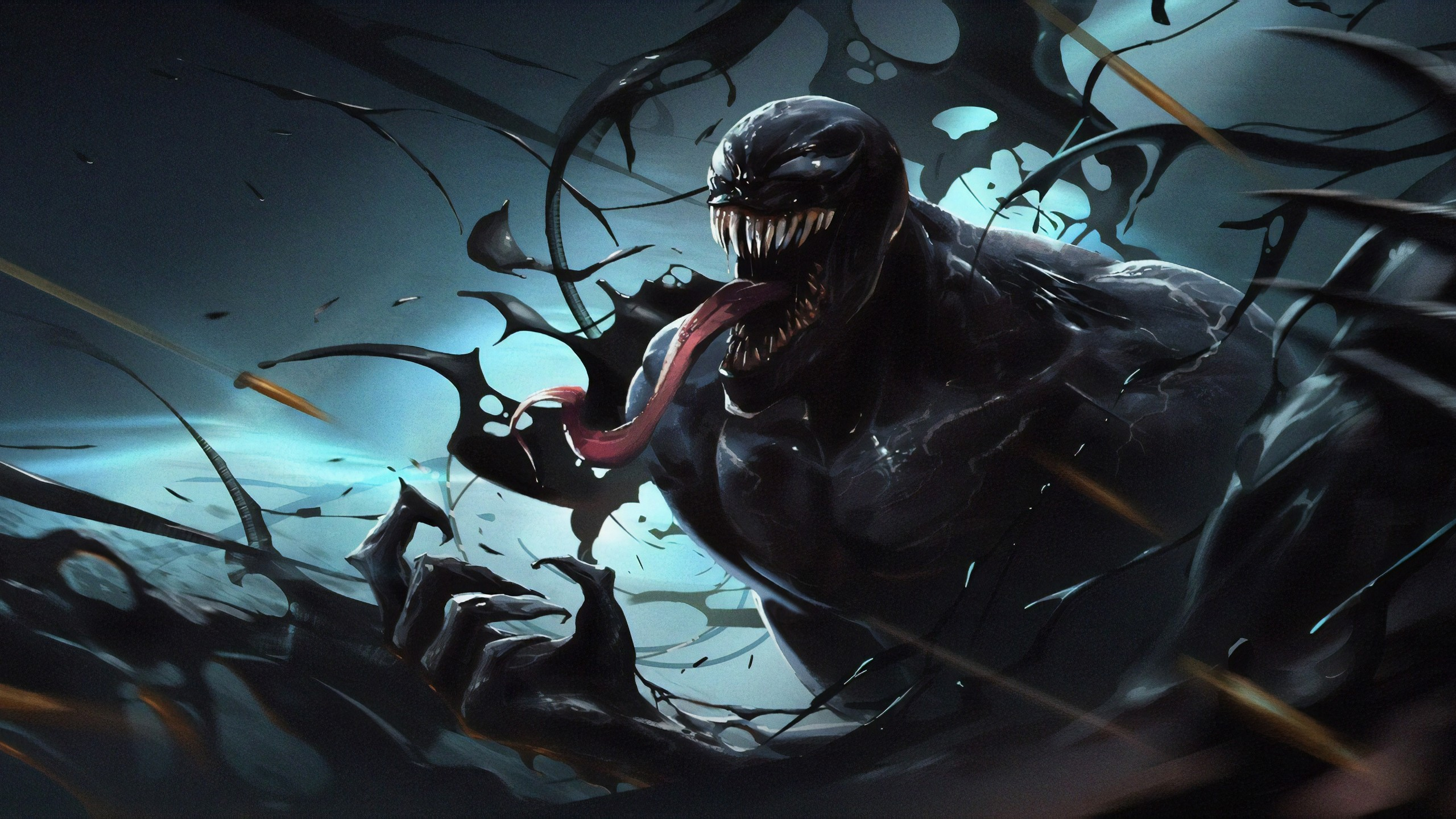 One Punch Man Wallpaper Iphone Venom Artwork 5k Wallpapers Hd Wallpapers Id 27016
