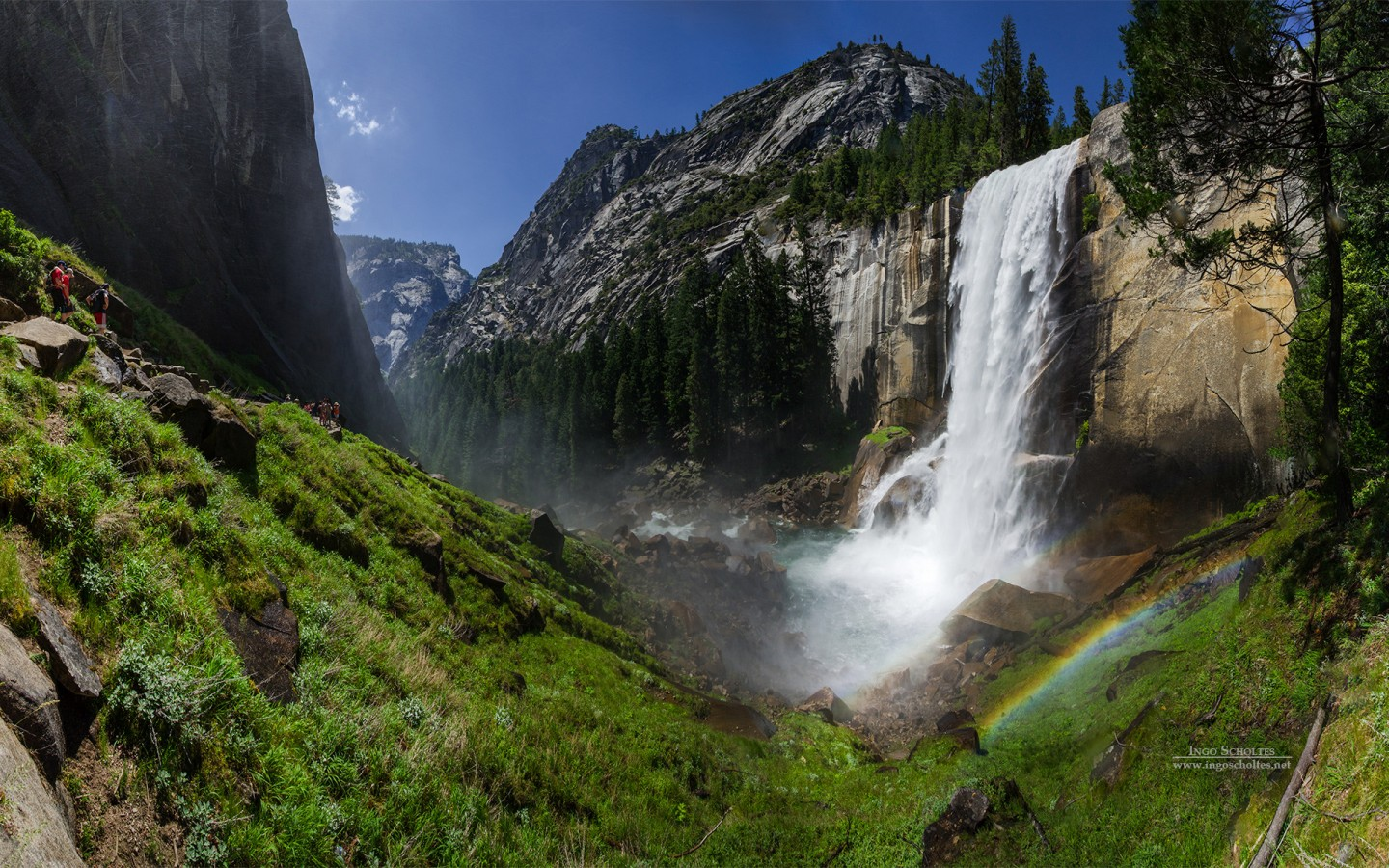 Cute Wallpapers For March Vernal Fall Yosemite National Park Wallpapers Hd