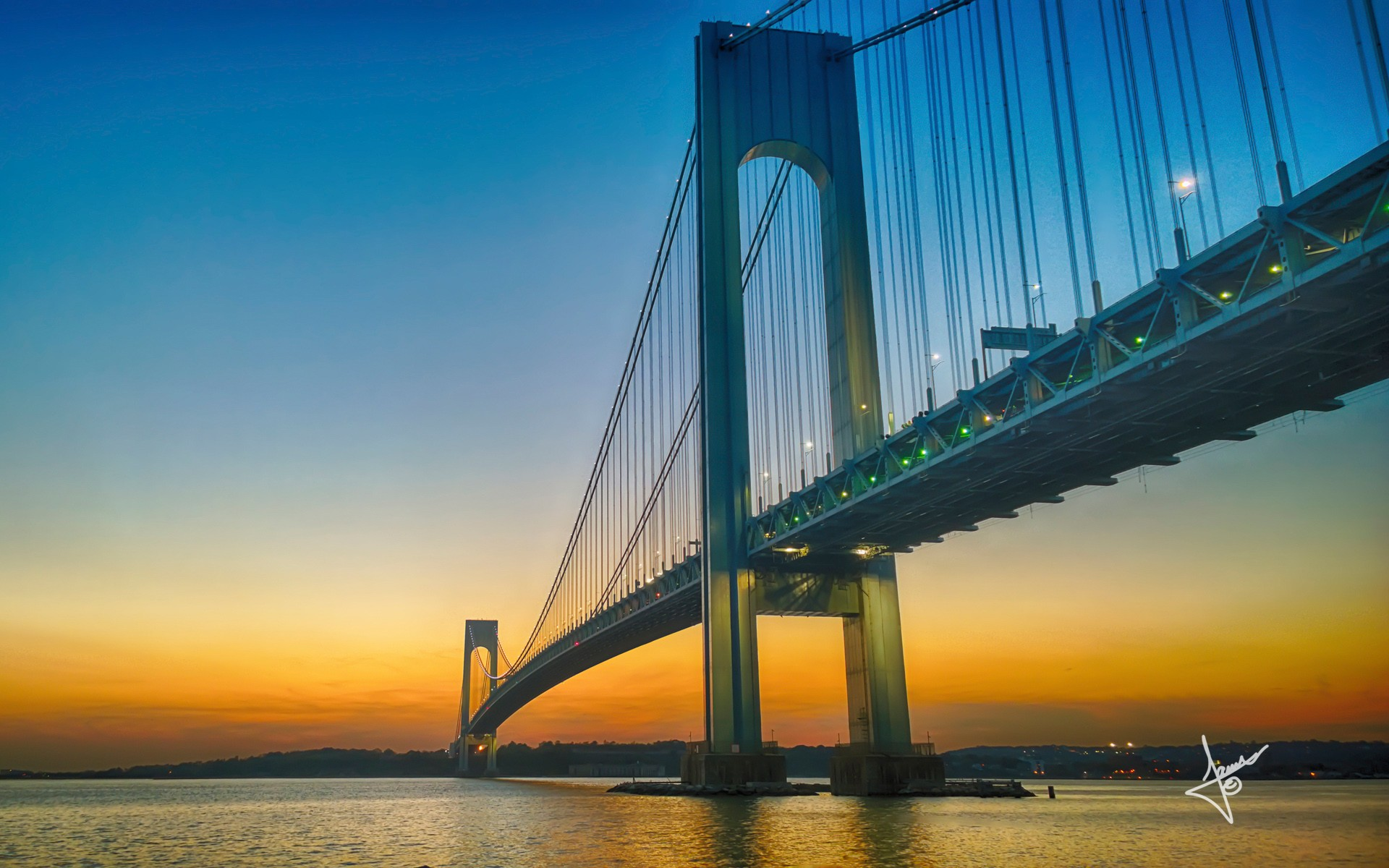 Cute Phone Wallpaper Download Verrazano Narrows Bridge Wallpapers Hd Wallpapers Id