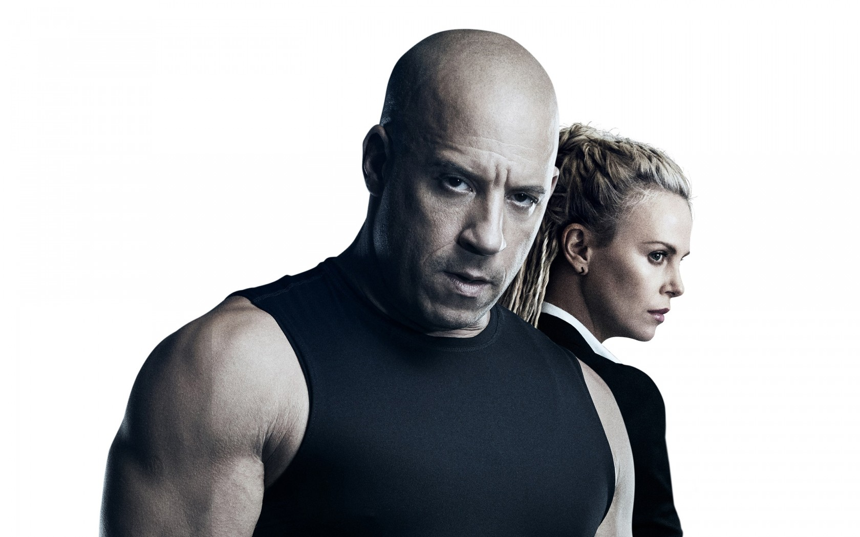 Dragon Ball Wallpaper 3d Hd Vin Diesel Charlize Theron The Fate Of The Furious