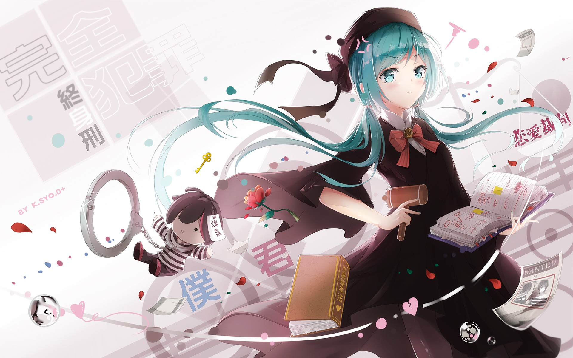 Anime Boy And Girl Couple Wallpaper Vocaloid Hatsune Miku Wallpapers Hd Wallpapers Id 17708