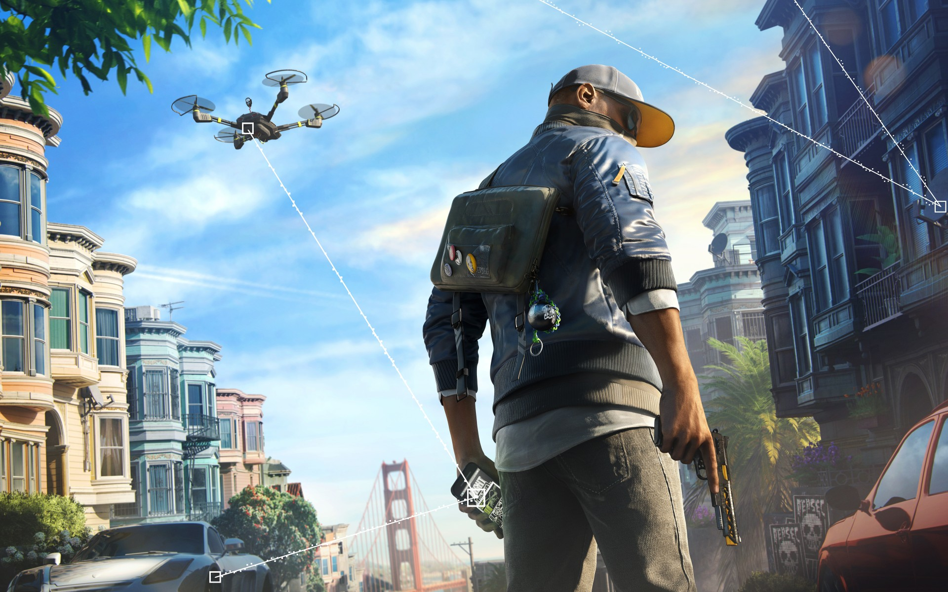 Full Hd Wallpapers For Iphone 4 Watch Dogs 2 Marcus 4k 8k Wallpapers Hd Wallpapers Id