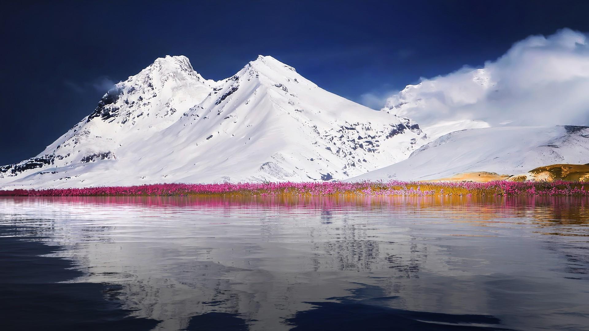 Download Fall Wallpaper For Laptops Winter Mountain Landscape 4k Wallpapers Hd Wallpapers