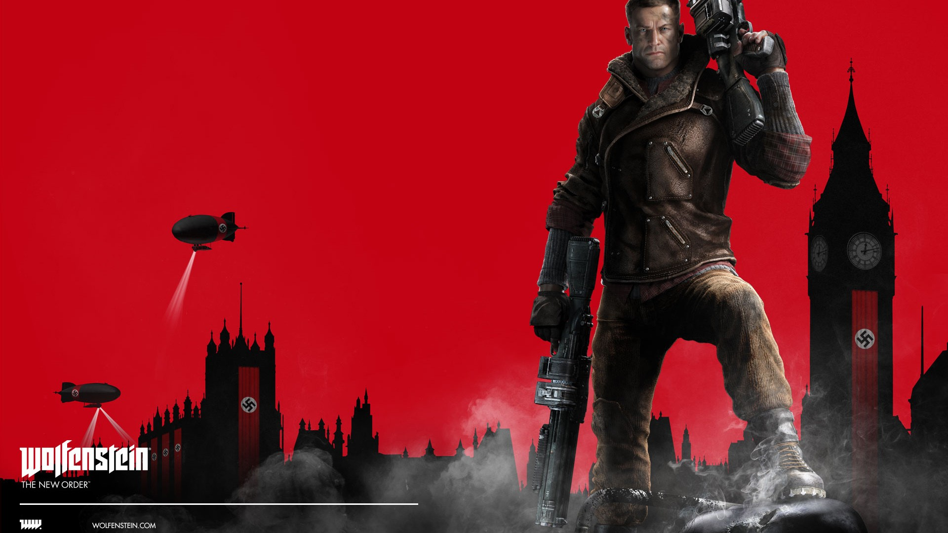 Wolfenstein The New Order Hd Wallpaper Wolfenstein The New Order Video Game Wallpapers Hd