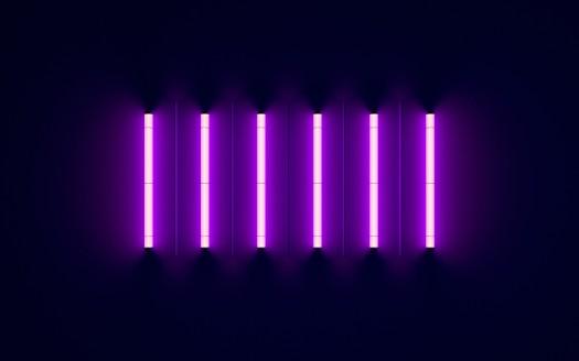 Windows Fall Wallpaper Purple Neon Lights 4k Wallpapers Hd Wallpapers Id 27611