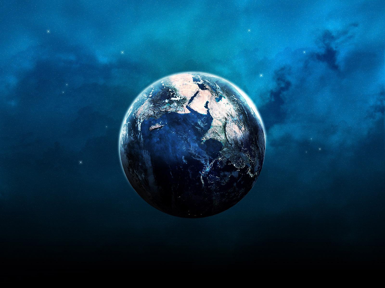 Hd Earth Wallpaper Widescreen Blue Earth Wallpapers Hd Wallpapers Id 3880