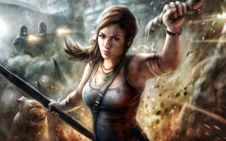 Lady Lara Croft Wallpapers  HD Wallpapers