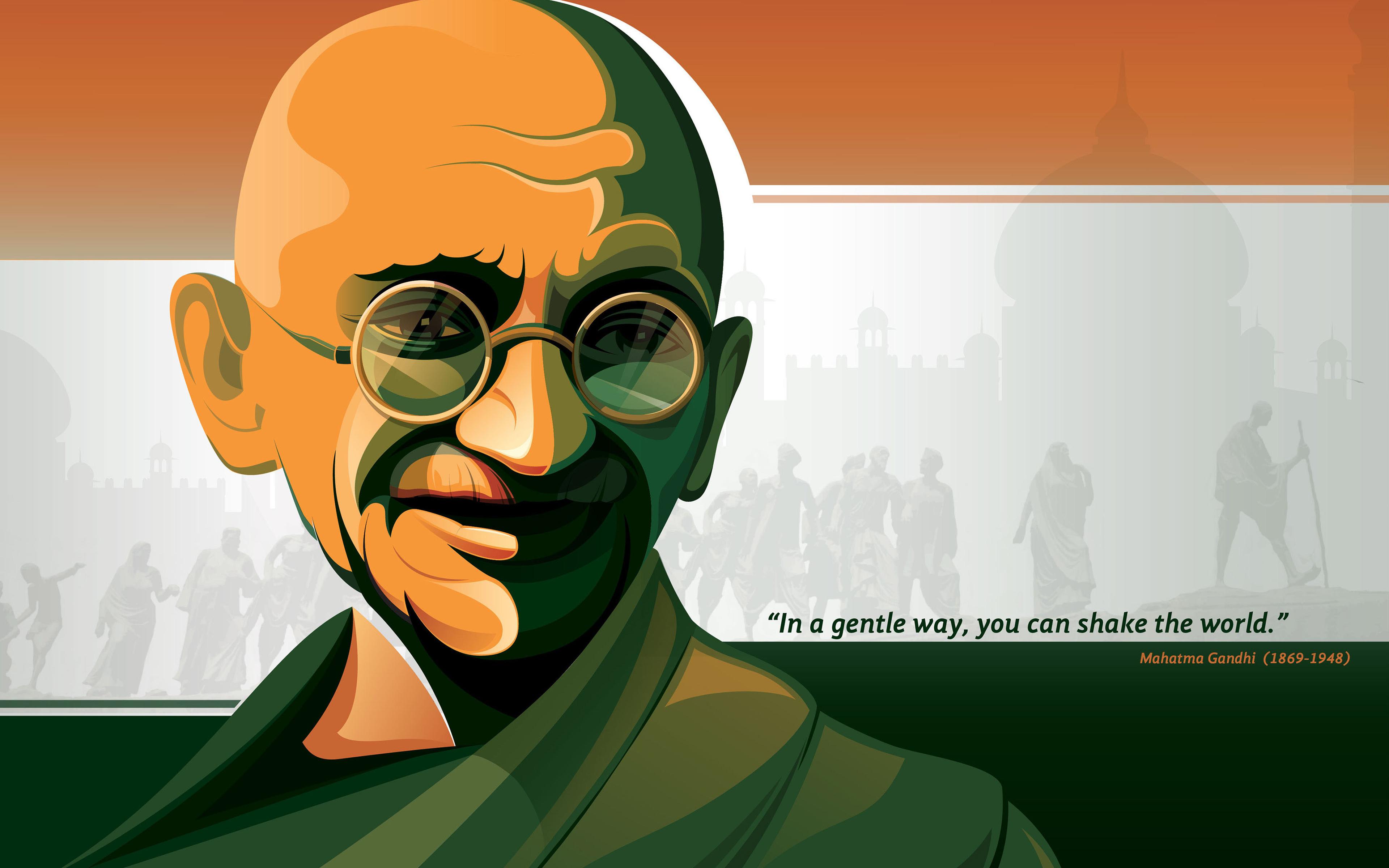 Indian Flag Animation Wallpaper Mahatma Gandhi Hd 4k Wallpapers Hd Wallpapers Id 20893