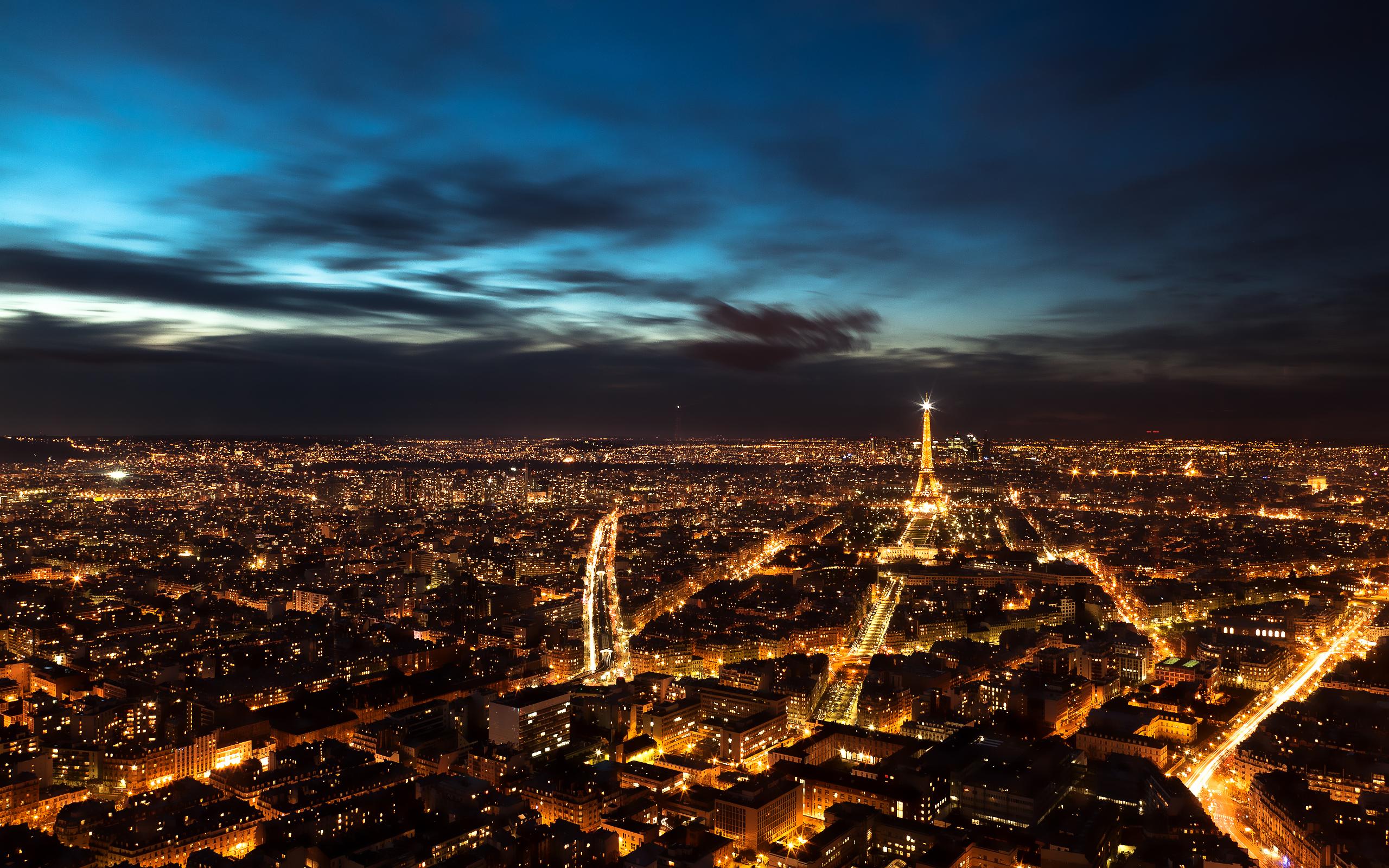 paris night sky wallpapers | hd wallpapers