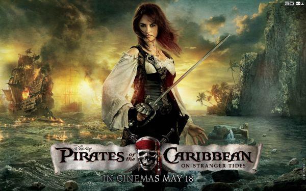 Penelope Cruz Pirates Of Caribbean Wallpapers Hd Id #10002