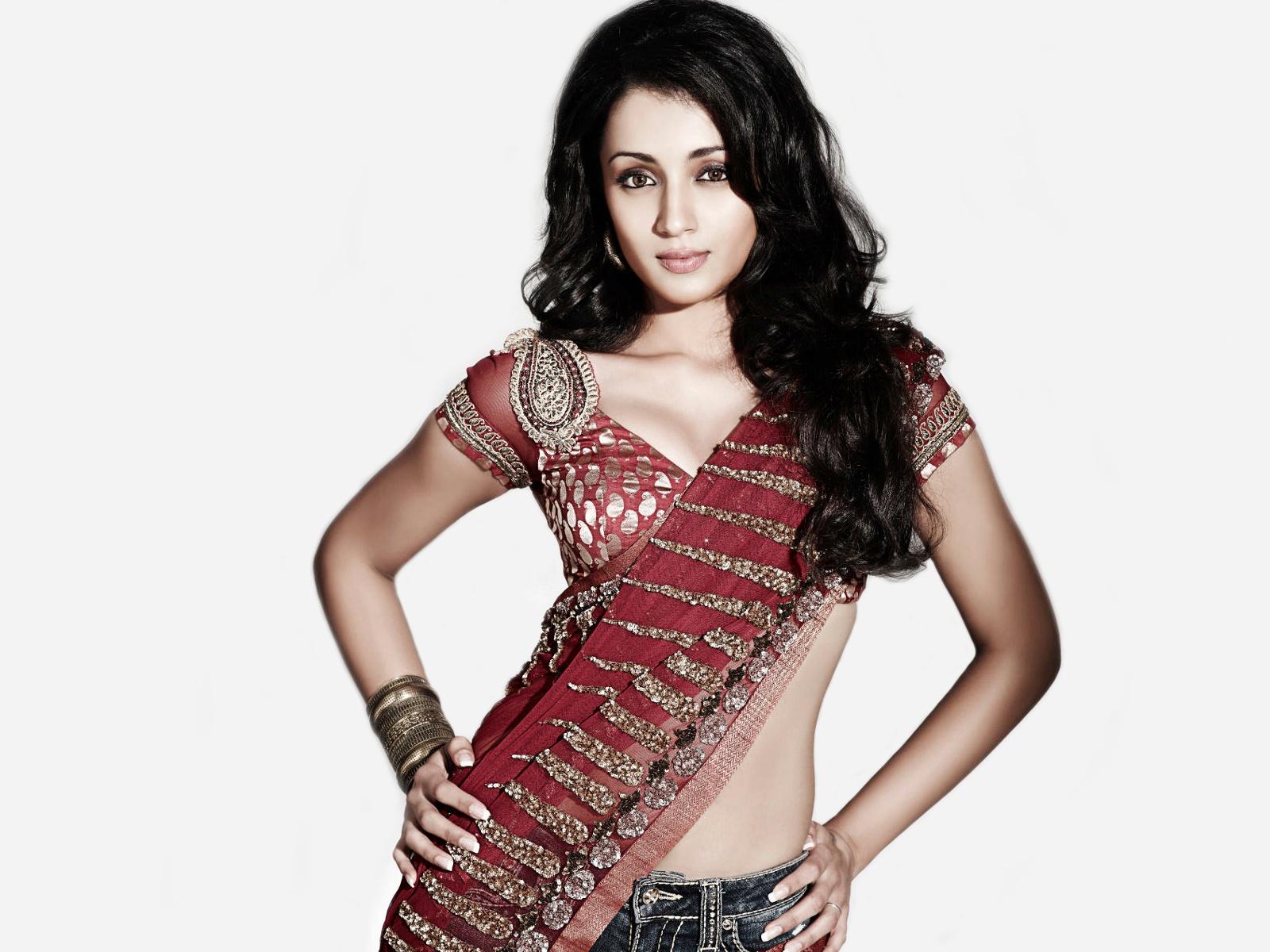 Indian Girl Wallpaper Full Hd Download Trisha Maxim Wallpapers Hd Wallpapers Id 9224