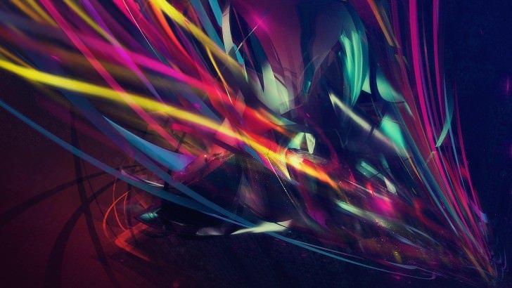 3d Retina Wallpaper Macbook Pro Abstract Multi Color Lines Wallpaper Abstract Hd