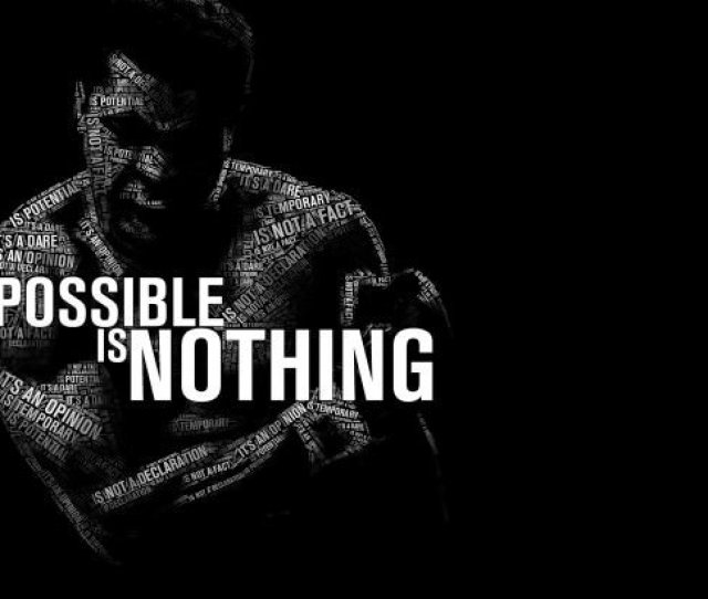 Impossible Is Nothing Muhammad Ali Wallpaper