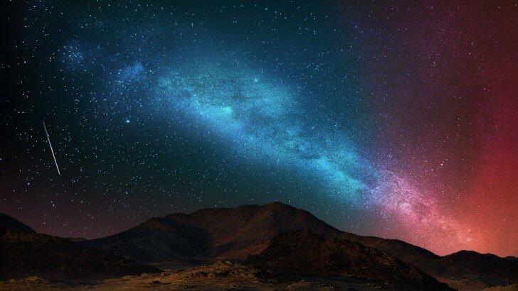 Samsung Galaxy S3 3d Wallpaper Free Download Starry Night Over The Desert Wallpaper Nature Hd