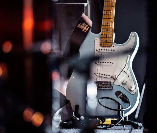 Wallpaper Guitars Stylish Electro