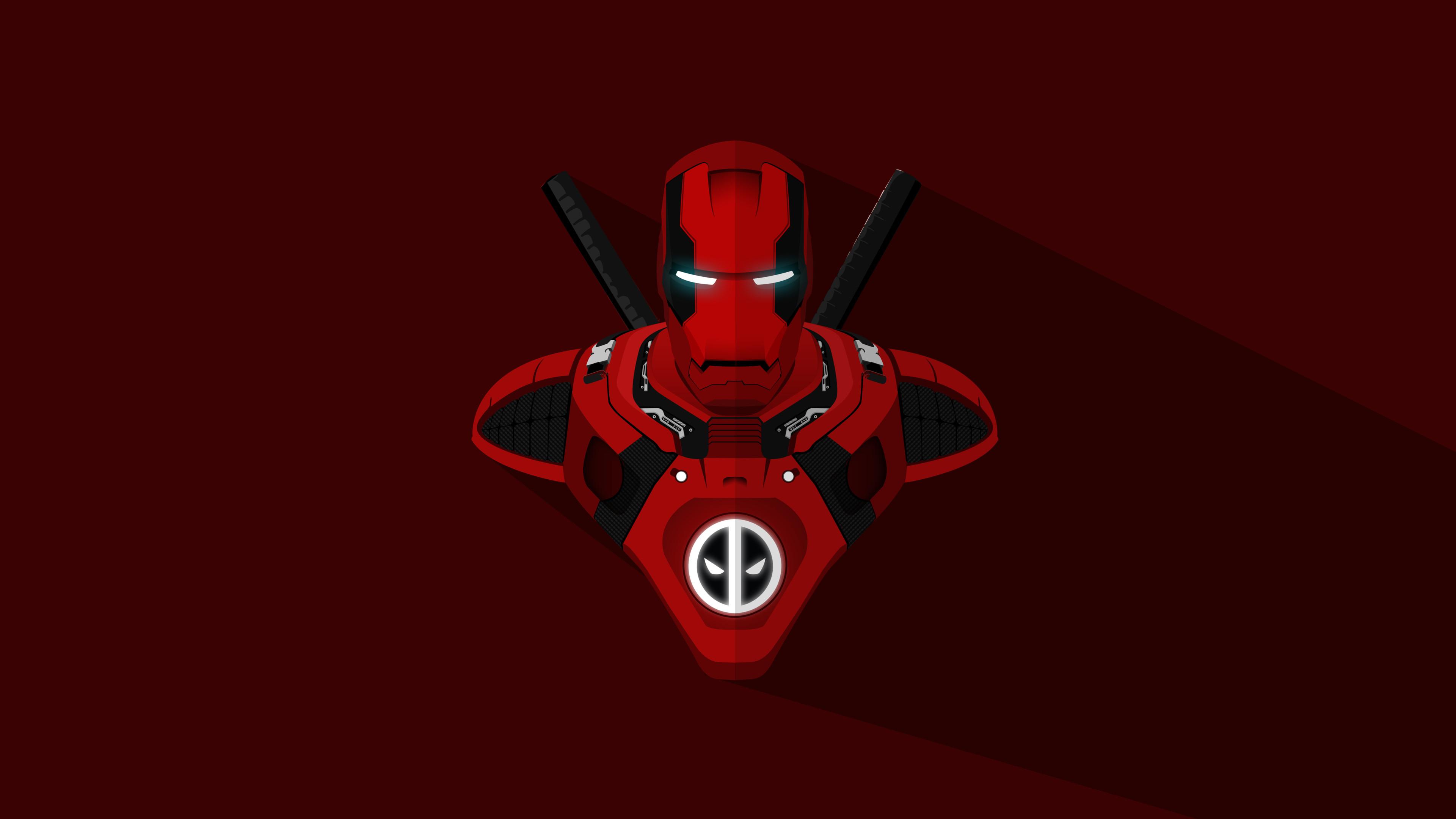 Madara Wallpaper 3d Hd Iron Man Deadpool Crossover 4k Wallpapers Hd Wallpapers