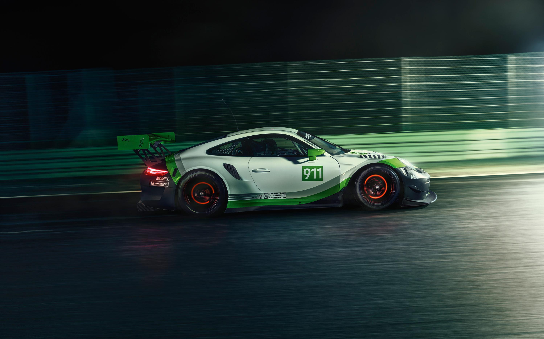 Golf Wallpaper Iphone 6 Porsche 911 Gt3 R 2018 Wallpapers Hd Wallpapers