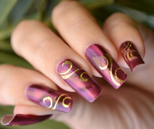 Fractal Latest Nail Designs Image