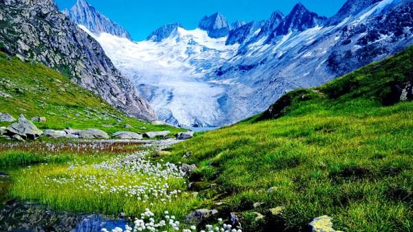 Mountains View Wallpaper | HD Wallpapers Pulse