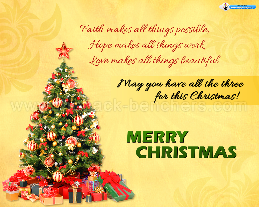 Merry Christmas Wishes HD Wallpapers Pulse