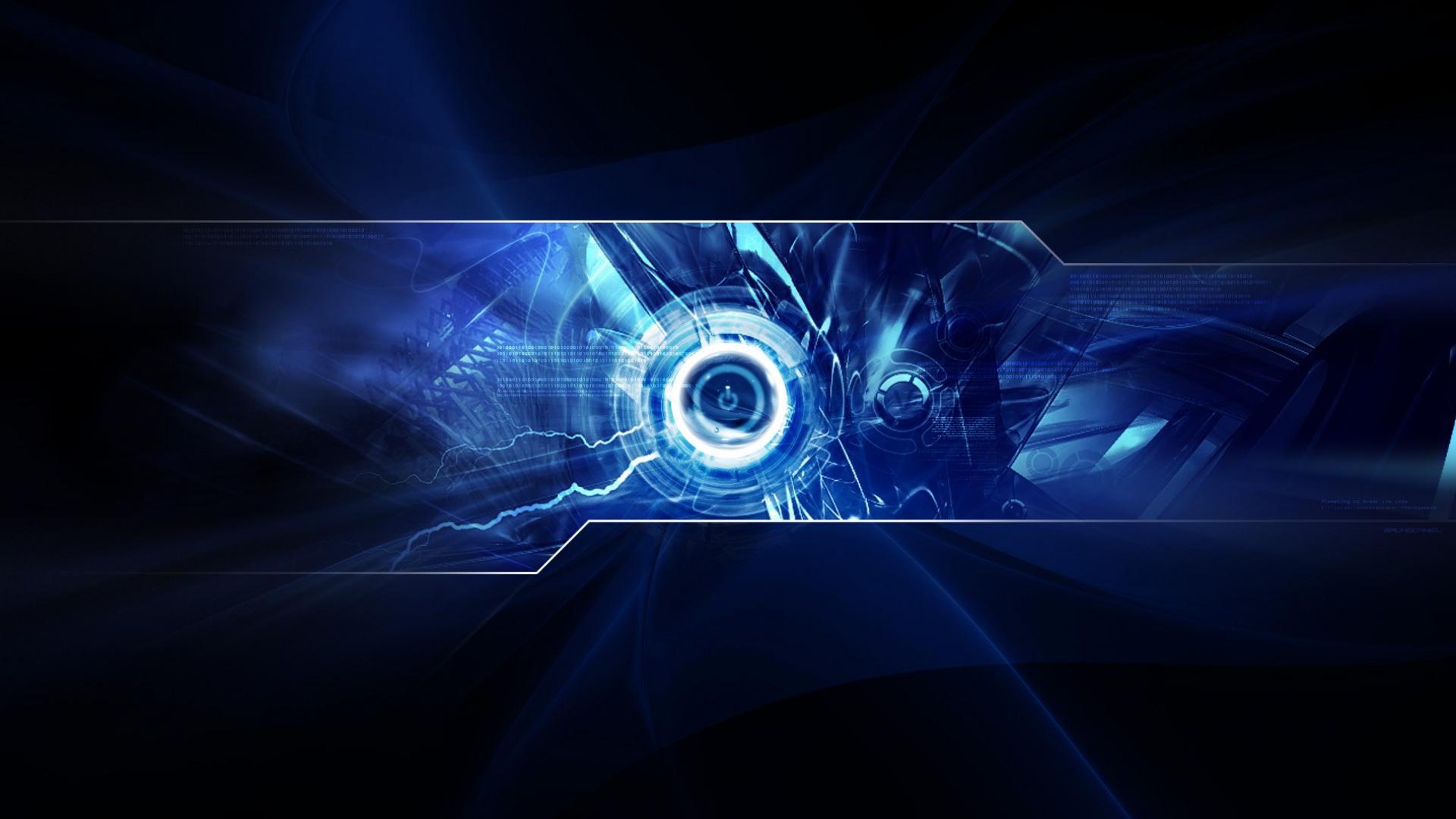 Digital Blue Computer Backgrounds