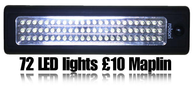 72-LED-light