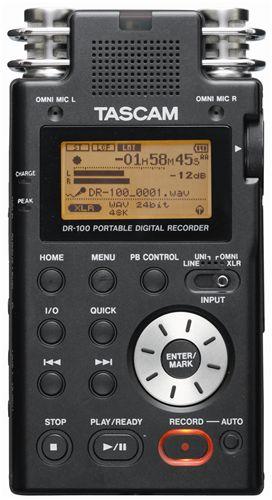 TASCAM-DR-100