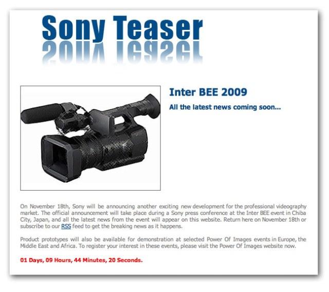 Sony-teaser