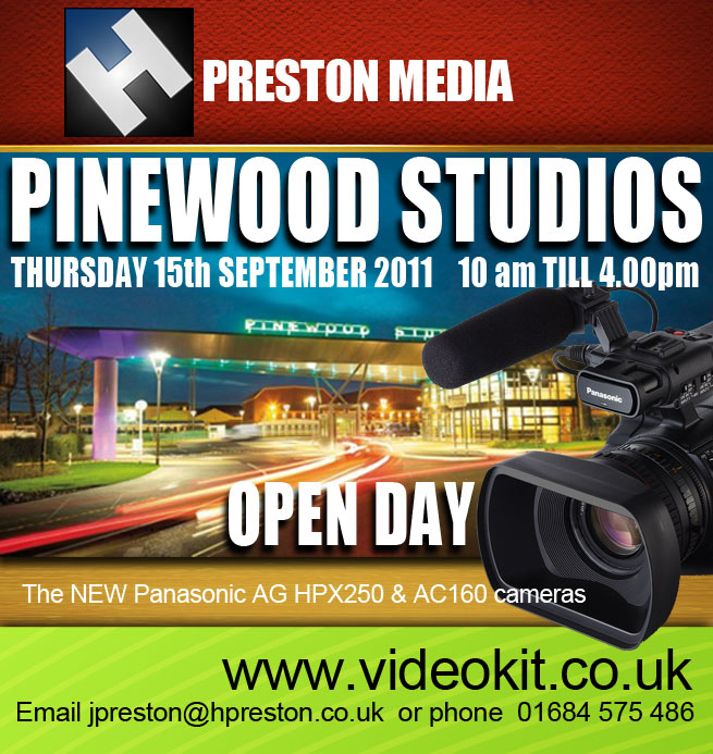 HD Warrior » Blog Archiv » H Preston Media …Open Day, see the new Panasonic  cameras