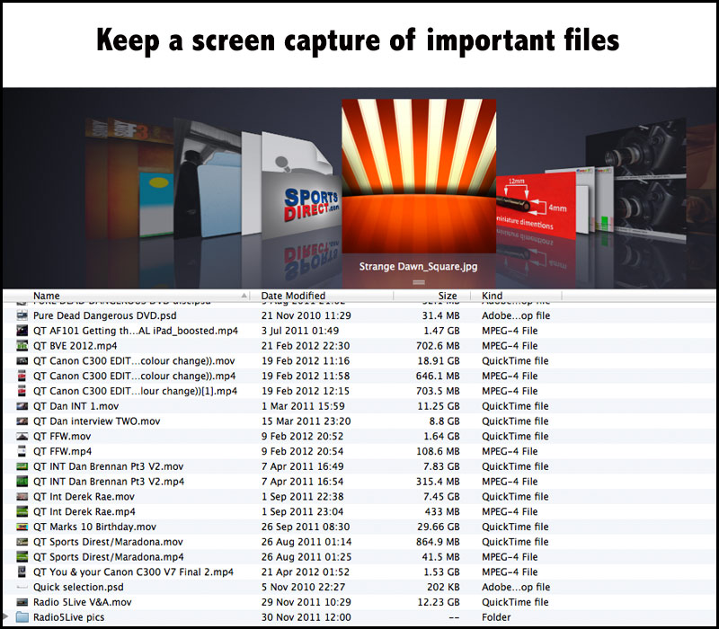 important-files
