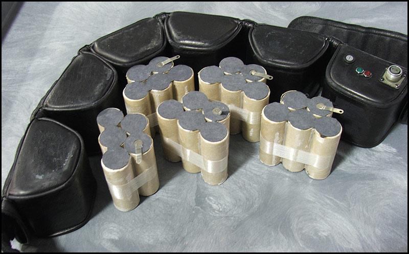 Battery-belt