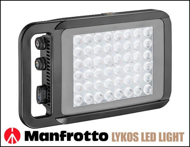 Manfrotto LED light title