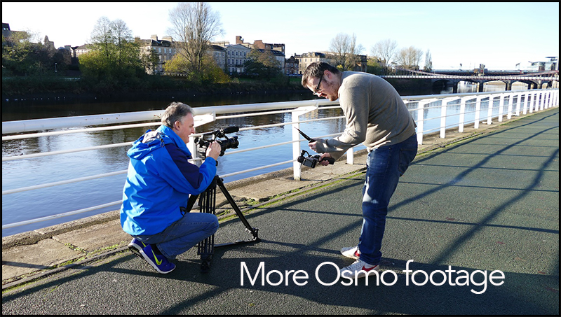more osmo footage
