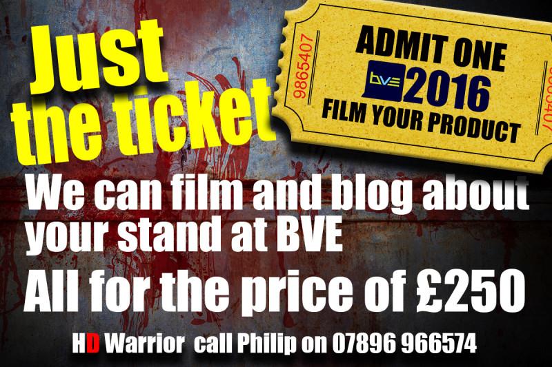 Ticket BVE master